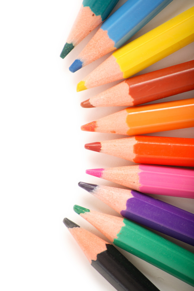 Explain the difference between subtractive and primary colors in terms of both light and pigments?